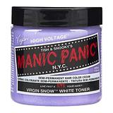 Vopsea Direct Semipermanenta - Manic Panic Classic, nuanta Virgin Snow 118 ml