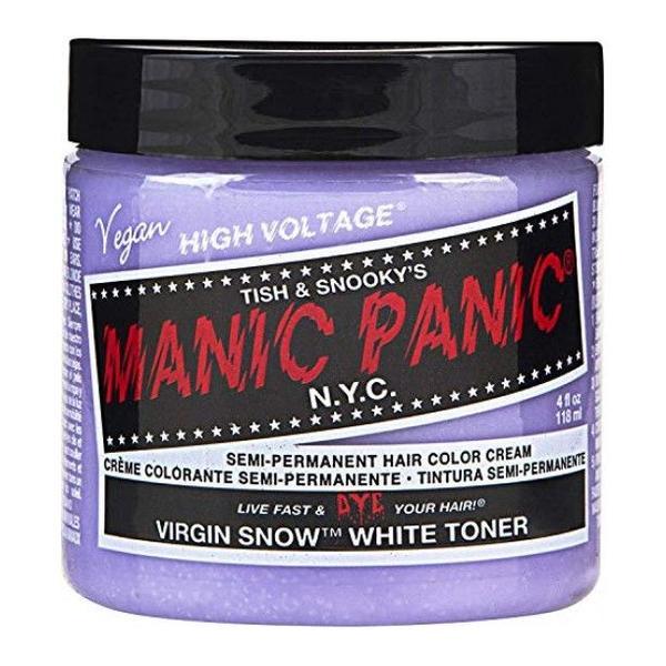 Vopsea Direct Semipermanenta - Manic Panic Classic, nuanta Virgin Snow 118 ml imagine produs