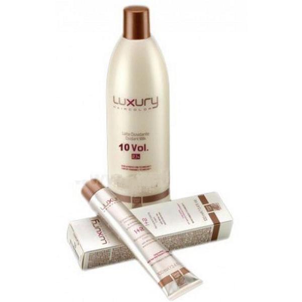 Oxidant Balsam cu Lapte 3% 10 VOL Luxury Green Light, 1000 ml imagine produs