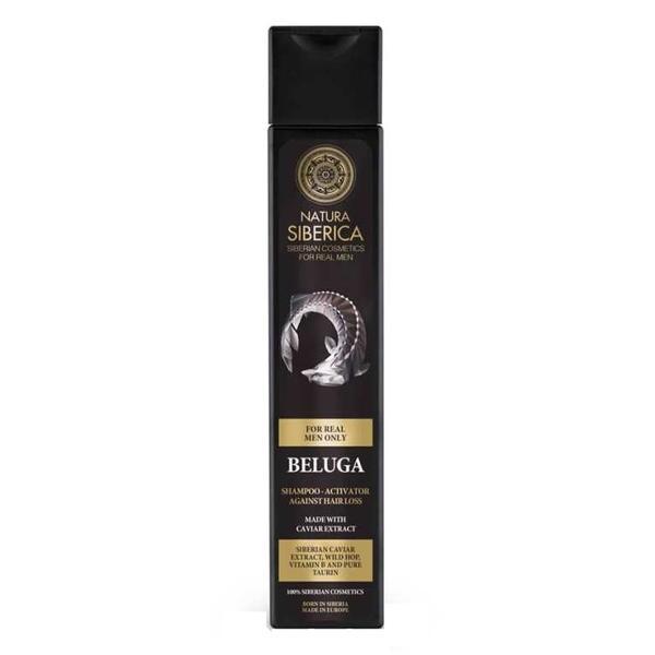 Sampon pentru Barbati Impotriva Caderii Parului cu Caviar Beluga Natura Siberica, 250ml imagine
