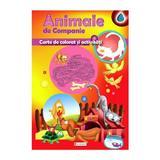 Animale de companie - Carte de colorat si activitati, editura Unicart