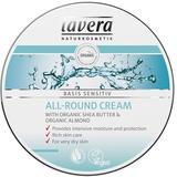 Crema Hidratanta Multifunctionala cu Unt de Shea Basis Sensitiv Lavera, 150ml