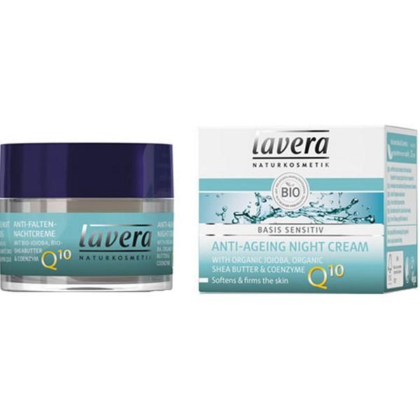 Crema de Noapte Antirid cu Coenzima Q10 Basis Sensitiv Lavera, 50ml