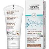 Crema Hidratanta Nuantata cu SPF10 pentru Ten Mediu Basis Sensitiv Lavera, 50ml