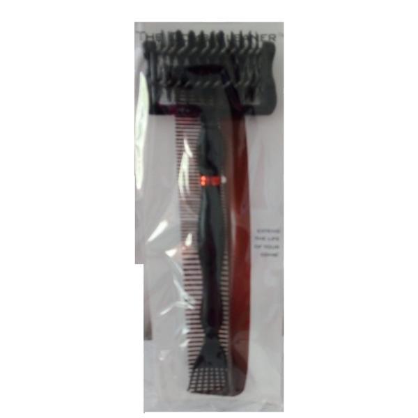 Instrument pentru Curatare Piepteni si Perii - Beautyfor Comb & Brush Cleaner, negru imagine produs