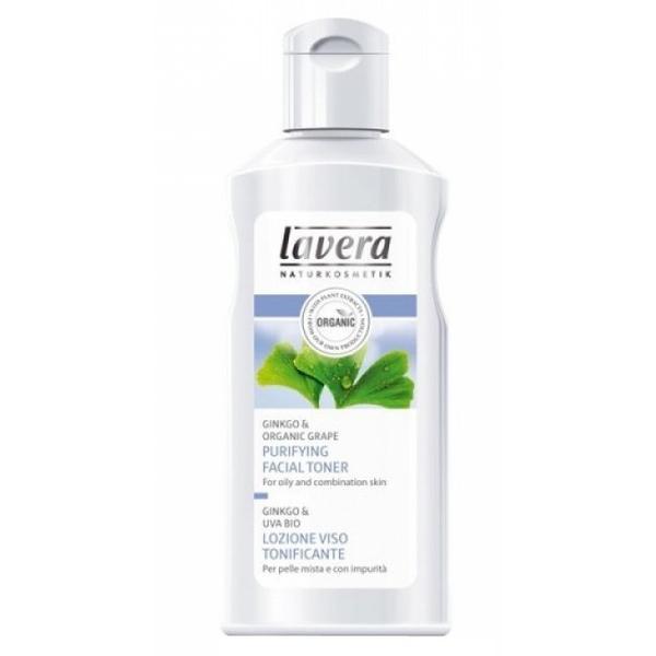 Lotiune Tonica Purifianta cu Tehnologie Micelara pentru Ten Gras si Mixt Lavera, 125ml imagine produs
