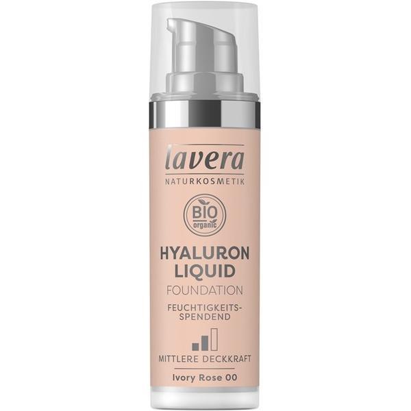 Fond de Ten Bio Hyaluron Liquid Ivory Rose 00 Lavera, 30ml imagine produs