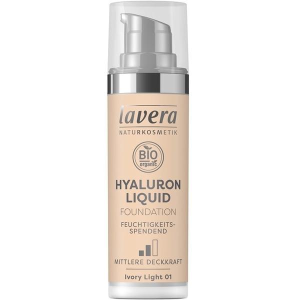 Fond de Ten Bio Hyaluron Liquid Ivory Light 01 Lavera, 30ml imagine produs