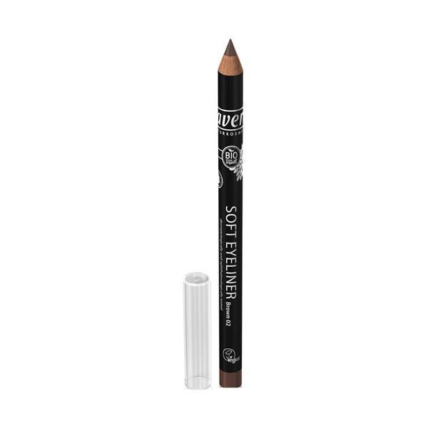 Creion Bio de Ochi pentru Contur Maro 02 Lavera imagine
