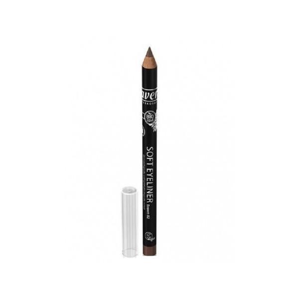 Creion Bio de Ochi pentru Contur Maro Auriu 04 Lavera imagine