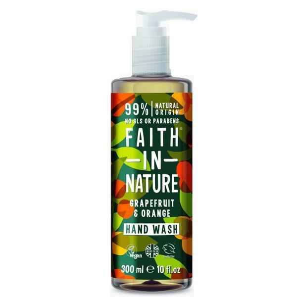 Sapun Lichid cu Grapefruit si Portocale Faith in Nature, 300 ml imagine produs