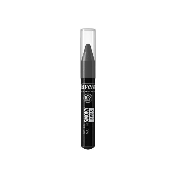 Creion Bio pentru Ochi Matt'n Smoky Eyes Black 01 Lavera imagine