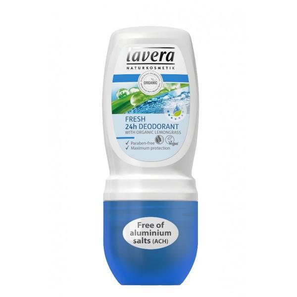 Deodorant Roll-On 24h Fresh pentru Protectie Maxima Lavera, 50ml imagine produs