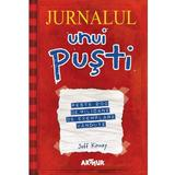 Jurnalul unui pusti Vol.1-4 - Jeff Kinney, editura Grupul Editorial Art
