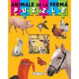 Puzzle. Animale de la ferma, editura Girasol