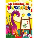 Sa coloram cu dinozaurii, editura Erc Press