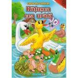 Ratusa cea urata - Carte de colorat, editura Eurobookids