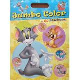 Tom si Jerry - Jumbo color + 50 stickers, editura Eurobookids