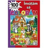 Invatam sa coloram 100 imagini, editura Eduard