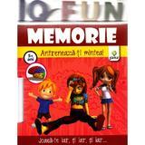 Iq Fun - Memorie - Antreneaza-ti mintea! 5+ ani, editura Gama
