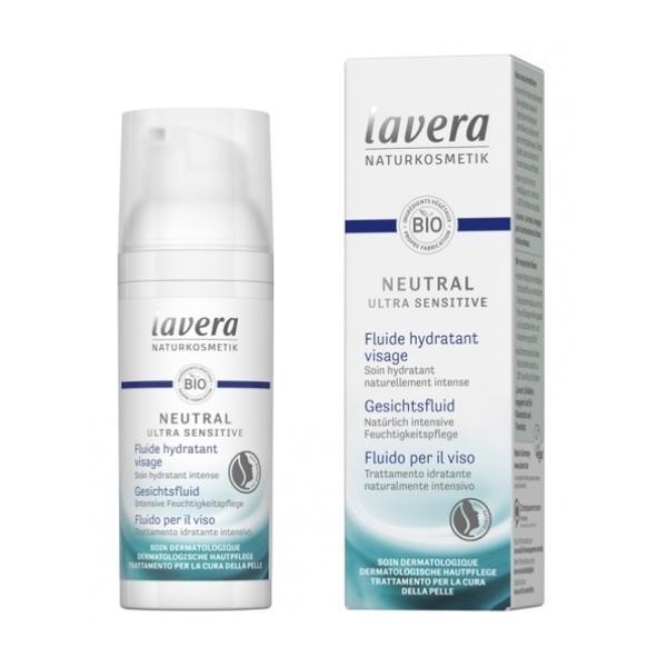 Fluid Facial pentru Tenul Alergic, Sensibil si Iritat Neutral Lavera, 50ml imagine produs