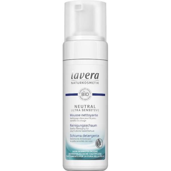 Spuma de Curatare pentru Ten Sensibil, Alergic si Intolerant Neutral Lavera, 150ml