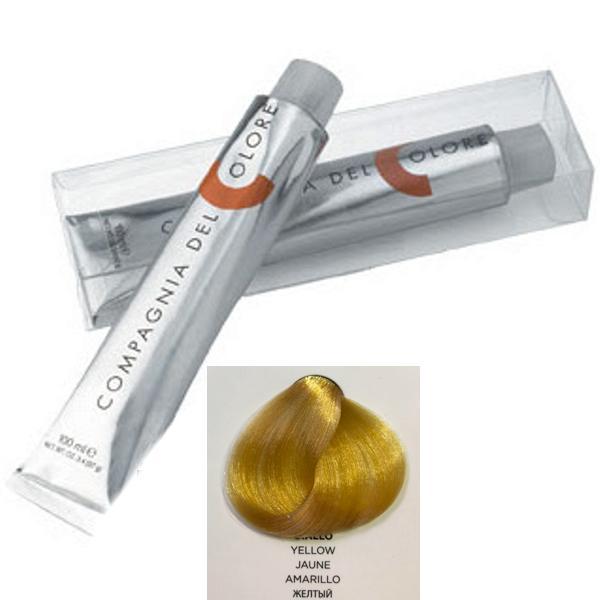 Vopsea Crema Compagnia del Colore, nuanta Yellow, 100 ml - Corector imagine produs