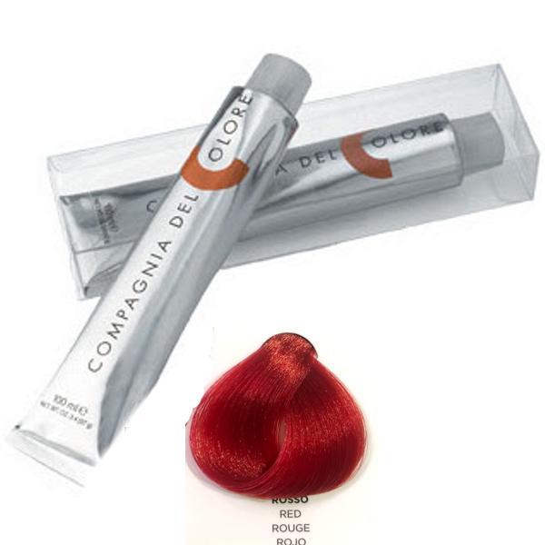 Vopsea Crema Compagnia del Colore, nuanta Red, 100 ml - Corector imagine produs