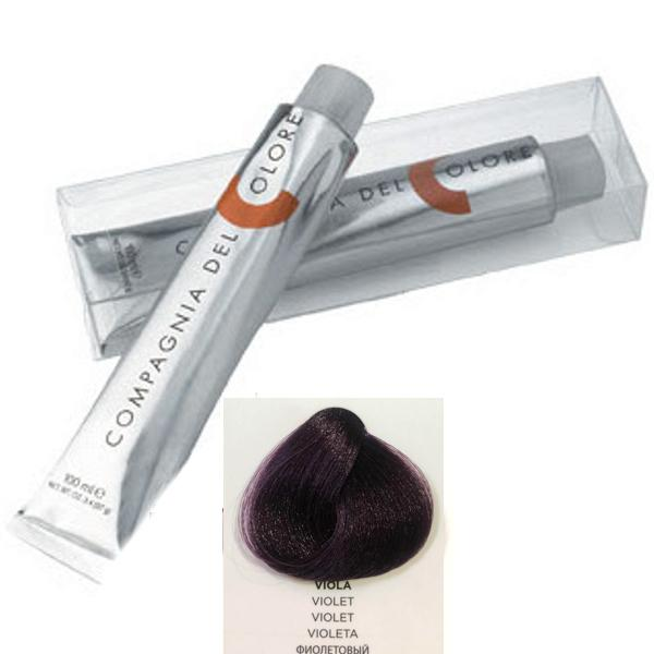 Vopsea Crema Compagnia del Colore, nuanta Violet, 100 ml - Corector imagine produs