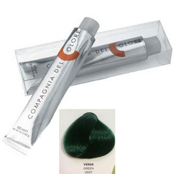 Vopsea Crema Compagnia del Colore, nuanta Green, 100 ml - Corector imagine produs
