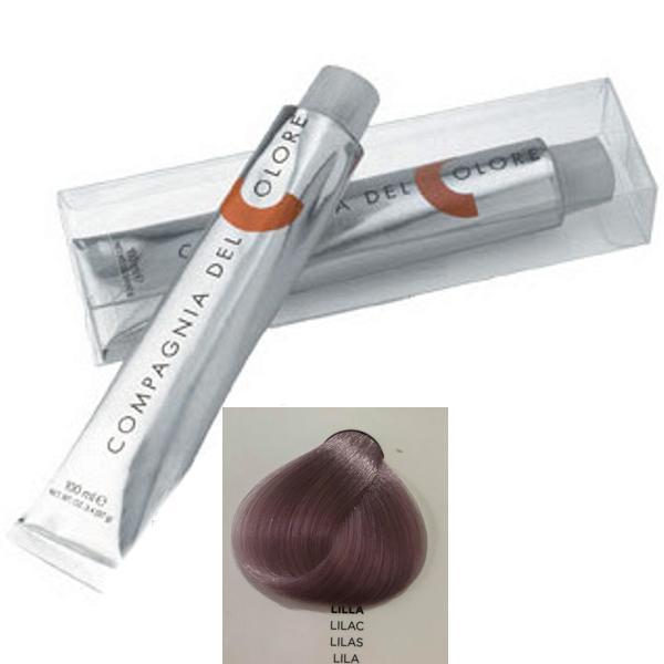 Vopsea Crema Compagnia del Colore, nuanta Lilac, 100 ml - Toner imagine produs