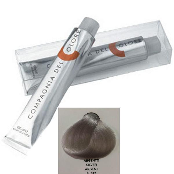 Vopsea Crema Compagnia del Colore, nuanta Silver, 100 ml - Toner imagine produs