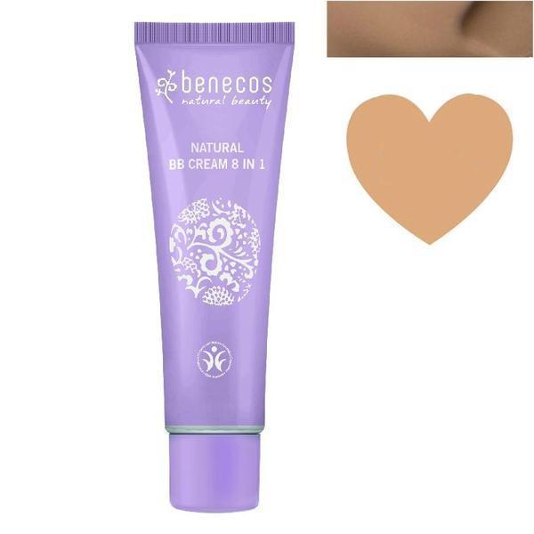 BB Cream Bio Beige pentru Ten Inchis Benecos, 30ml imagine produs