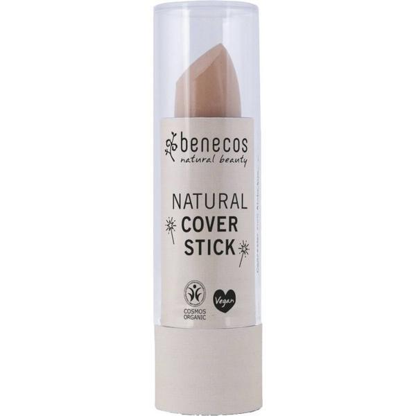 Stick Corector Bio pentru Cearcane si Imperfectiuni Beige Benecos, 4,5g imagine