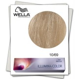 Vopsea Permanenta - Wella Professionals Illumina Color Nuanta 10/69 blond luminos deschis violet perlat