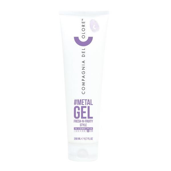 Gel Modelare Par Compagnia del Colore Metal Hair Gel, 200 ml imagine produs