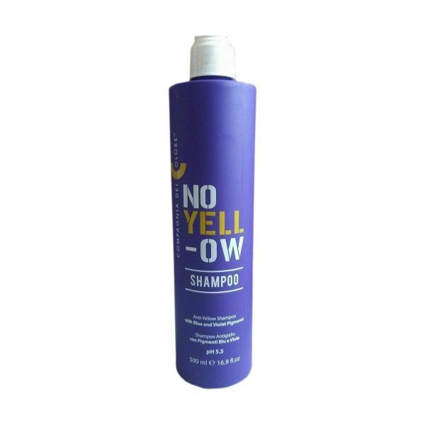 Sampon No Yellow cu Pigment Violet Compagnia del Colore, 500 ml imagine