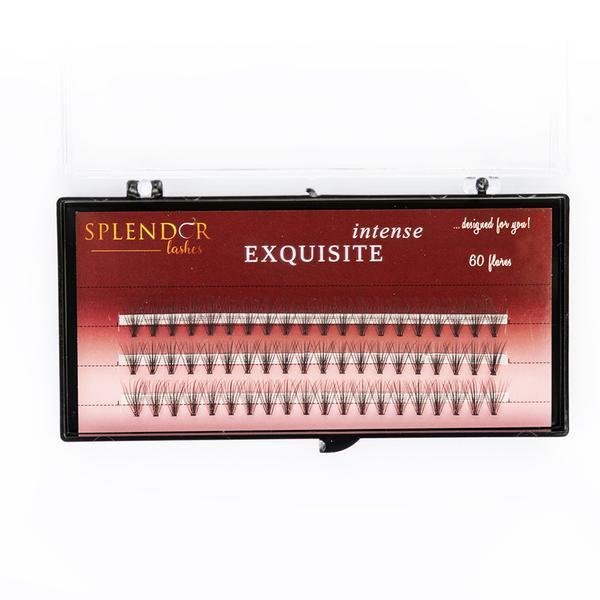 Gene false smocuri Exquisite Intense 20D Silk Lashes - 60 buc marimea S imagine produs