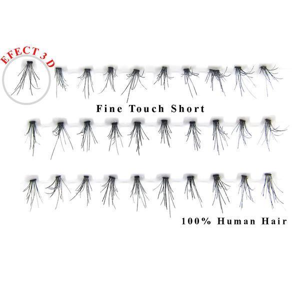 Gene false smocuri 3D par natural Fine Touch Short 30 buc imagine produs