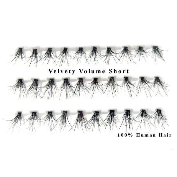 Gene false smocuri 3D par natural Velvety Volume Short 30 buc imagine produs