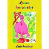 Lumea dinozaurilor - Carte de colorat, editura Pestalozzi