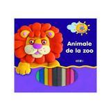 Animale de la zoo - Invat sa modelez, editura Prut