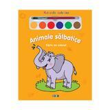 Animale salbatice - Miracolul culorilor - Carte de colorat, editura Prut