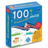 100 de cuvinte in limba engleza. Joc bilingv