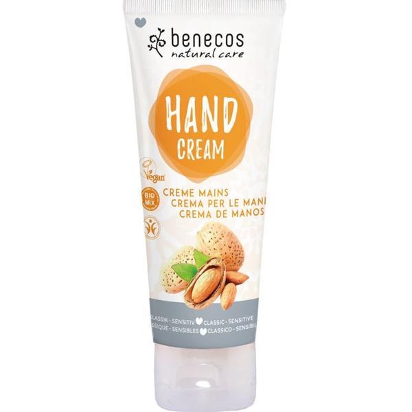Crema de Maini Classic Sensitive Benecos, 75ml imagine produs