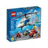 LEGO City - Urmarire cu elicopterul politiei