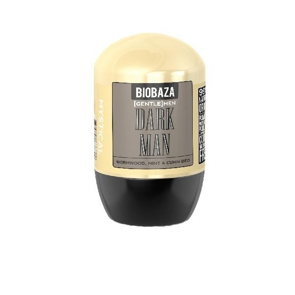 Deodorant Natural pentru Barbati DARK MEN cu Menta si Chimion Biobaza, 50ml poza