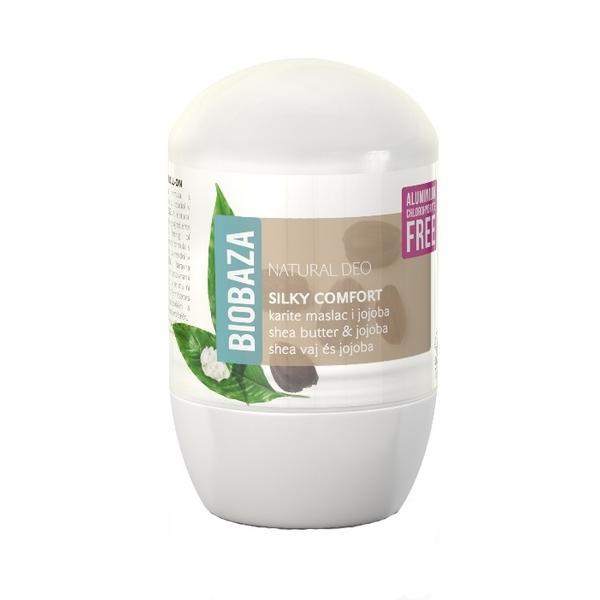 Deodorant Natural pentru Femei SILKY COMFORT cu Shea si Jojoba Biobaza, 50ml imagine produs