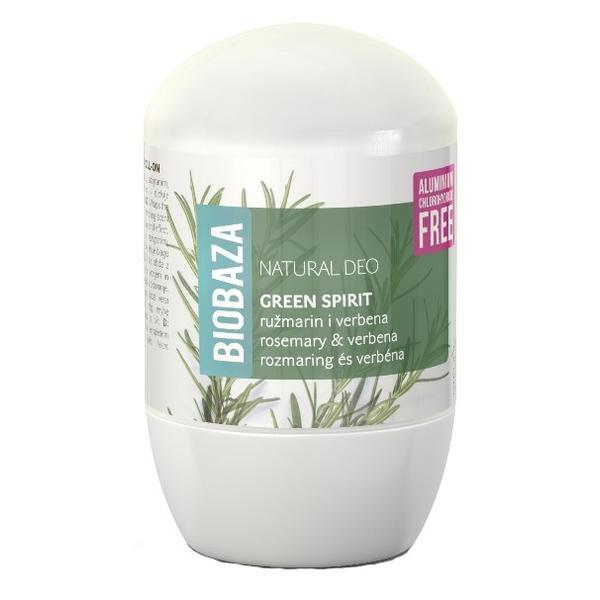Deodorant Natural pentru Femei GREEN SPIRIT cu Verbina si Rozmarin Biobaza, 50ml imagine produs