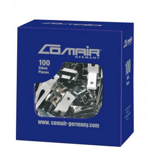 Clipsuri Metalice Duble Comair Professional, 100 buc imagine produs